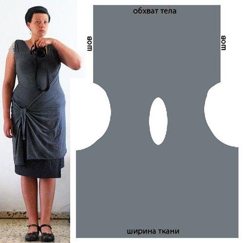 как сплести платье из резинок без станка