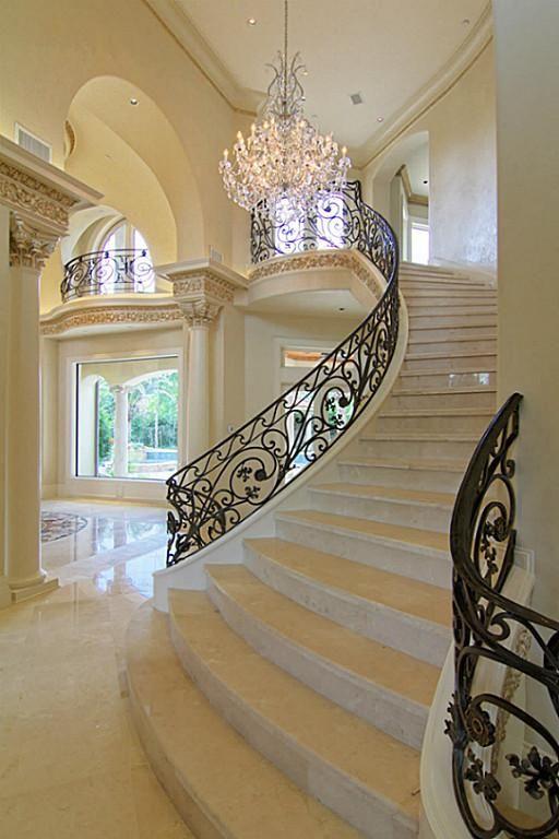 Escalera Blanca.: