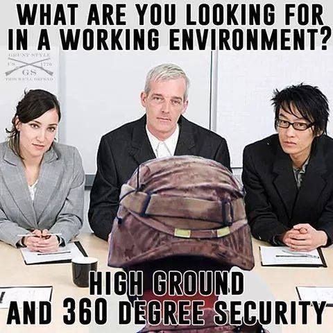 Never Go Full Hooah In A Job Interview Via Grunt Style Http Www Wearethemighty Com Articles The 13 Funniest Military Memes Military Humor Job Interview