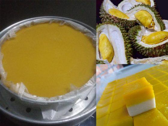 Resepi Talam Durian Licin Best Dengan Rahsia Penjual Kuih Talam In 2021 Asian Desserts Durian Food