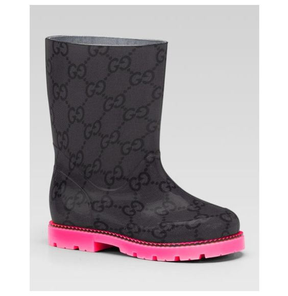 Gucci rain boots!! | Fashion forward kids | Pinterest | Rain boots ...