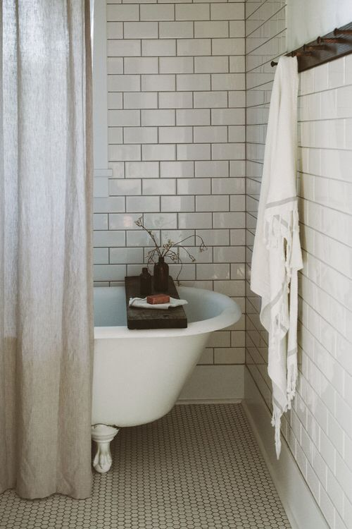 Clawfoot Tubs Bathroom Updates And Tile On Pinterest