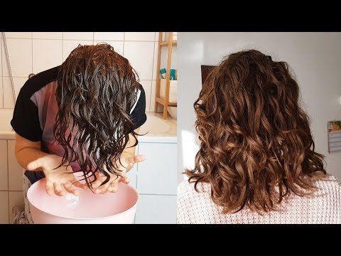 Soforthilfe Bei Trockenen Und Frizzigen Locken Wellen Curly Girl Methode Bowl Methode Youtube Locken Machen Lockige Frisuren Naturlocken Frisuren