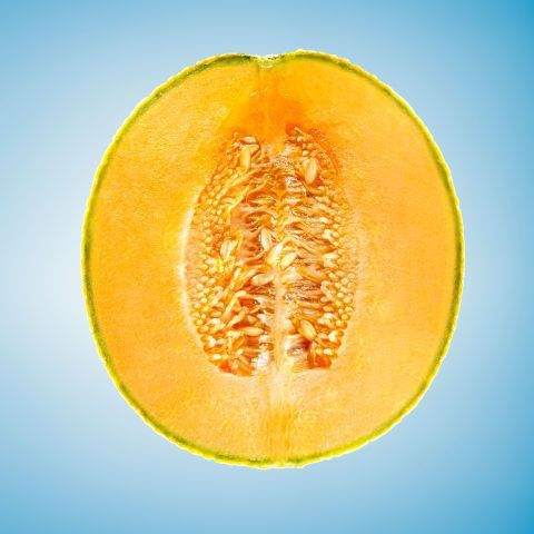 The Orange Melon Is Low In Calories High In Water Content And Has Plenty Of Potassium Wh Foods That Help Bloating Foods To Stop Bloating Foods For Bloating Look for a cantaloupe with even netting on the skin and no soft spots. pinterest