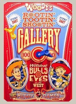 "Woody's ""Rootin' Tootin' Shottin' Gallery"""