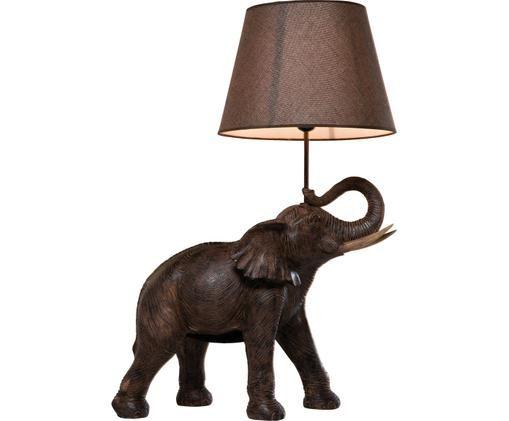Lampada Da Tavolo Elephant Westwingnow Lampada Elefante Lampade Da Tavolo Tavolo Design
