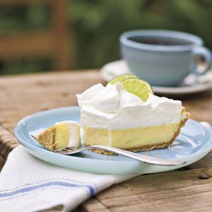 Heavenly Key Lime Pie   MyRecipes.com