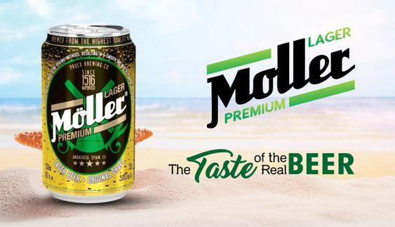 Bia Moller Lager Premium 5% - Lon 330ml - Bia Tây Ban Nha Nhập Khẩu TPHCM