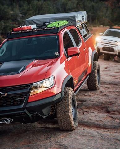 Prinsu Roof Rack Colorado Zr2 In 2020 Chevrolet Colorado