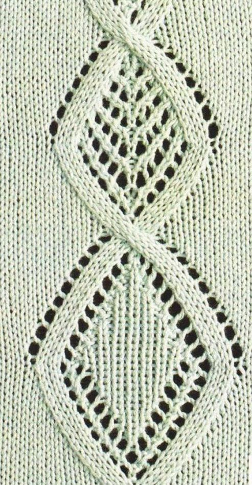 lace panel chart knitting Knitting Time-Es hora de tejer Pinterest Char...