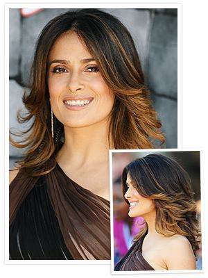 salma hayek haircuts | Salma Hayek's Haircut: How to Get It! : InStyle.com What's Right Now