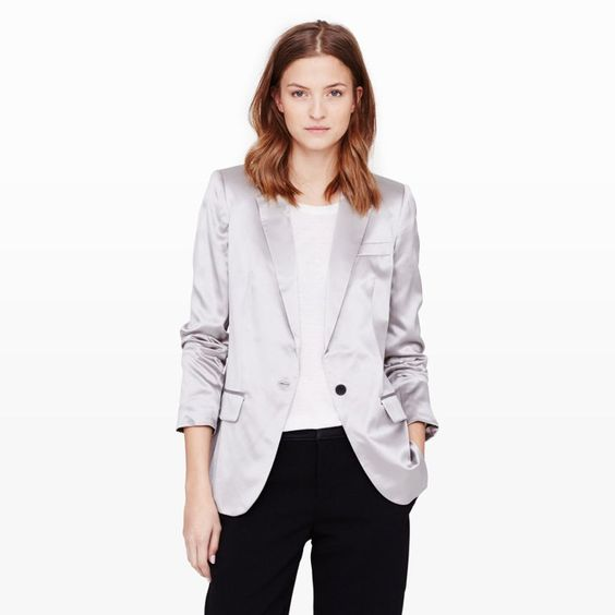 Pin for Later: Sparkle and Shine This NYE With These 35 Metallic Pieces Club Monaco Loraie Blazer Club Monaco Loraie Blazer ($398)
