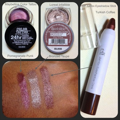 Winter makeup maybelline color tattoo and turkish coffee for Maybelline color tattoo in pomegranate punk