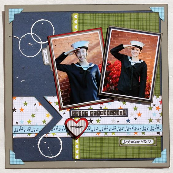 Scrapbook Layout Bella Blvd Papercrafting