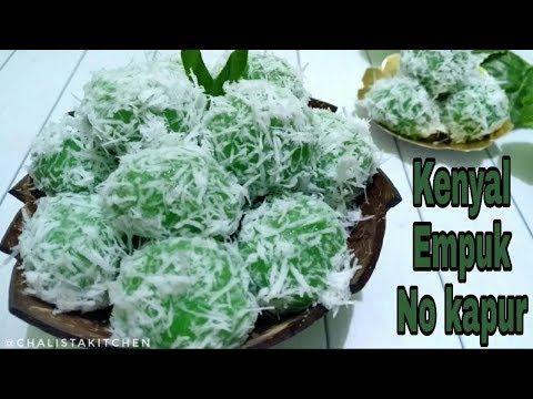 Resep Klepon Kenyal Empuk Tanpa Air Kapur Youtube Resep Ide Makanan Makanan Manis
