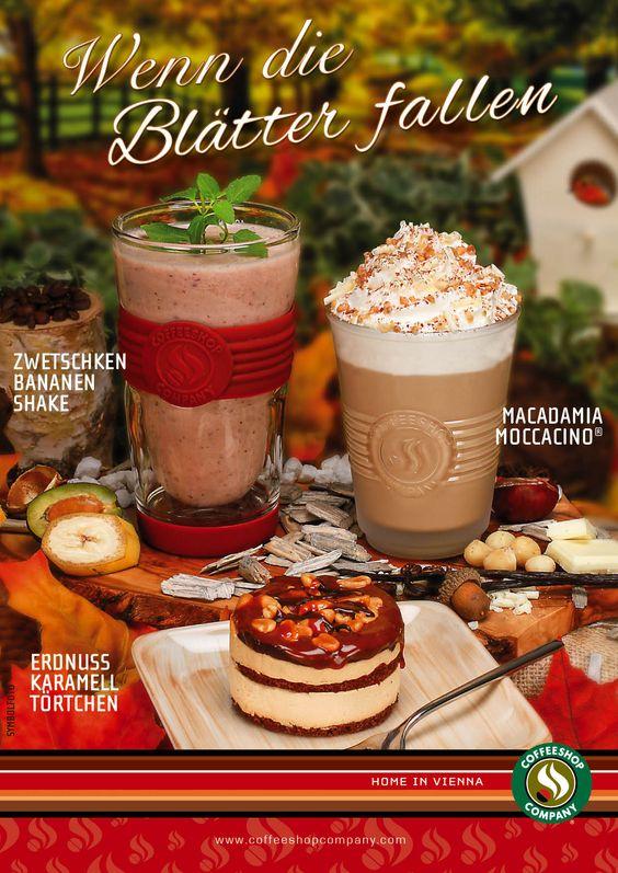 Neue Herbstprodukte bei der Coffeeshop Company!