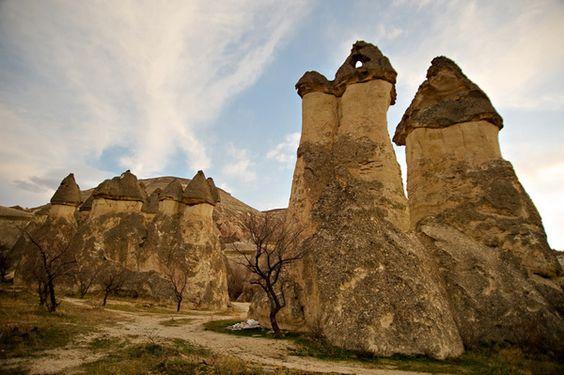 Valle de Paşabağ, Capadocia, Turquía