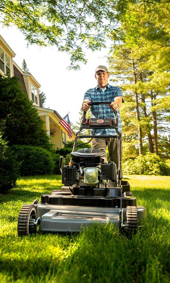 Dr Sp30 Manual Start Wide Area Mower Best Lawn Mower Lawn Mower Lawn