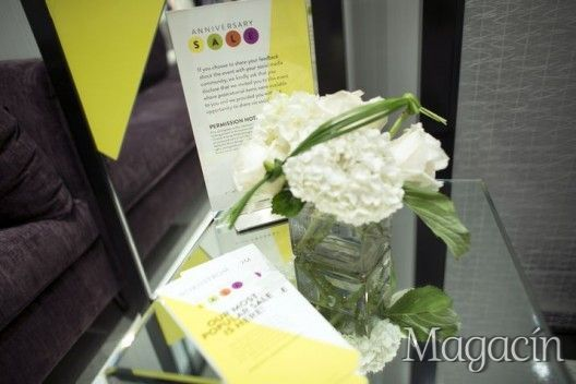 "Our flowers at a blogger""s event in Nordstrom San Juan"