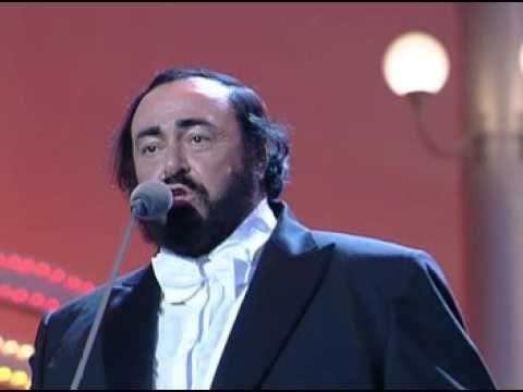▶ Enrique Iglesias & Luciano Pavarotti - Cielito Lindo - YouTube