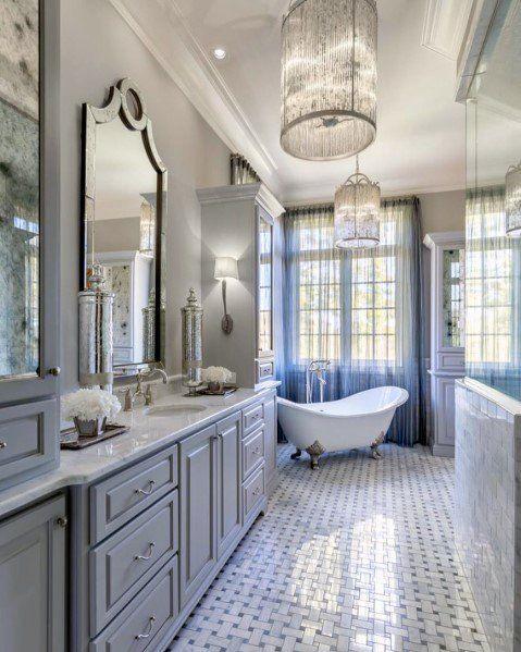 Top 50 Best Bathroom Lighting Ideas Interior Light Fixtures Bathroom Interior Design Bathroom Remodel Master Bathroom Interior