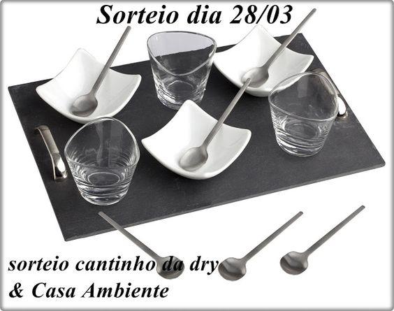 Cantinho da Dry: SORTEIO CANTINHO DA DRY & CASA AMBIENTE