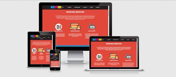 The Web Site - Diseño Web Responsivo, adaptado para todos los dispositivos. www.thewebsite.es