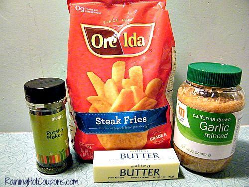 Red Robin Copy Cat Recipe: Garlic Parmesan Fries!