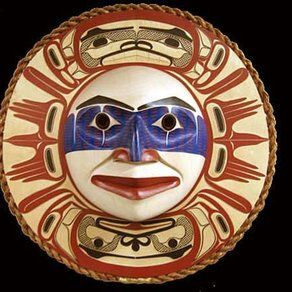 Native American mask