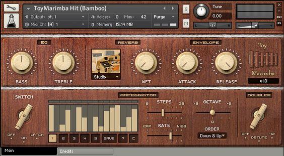 Toy Marimba By AudioThing