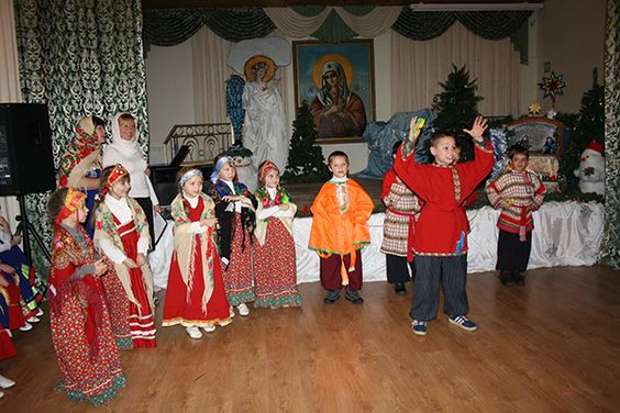 Volgograd region, Leninsky district, village Zaplavnoe, Orthodox kindergarten Tenderness