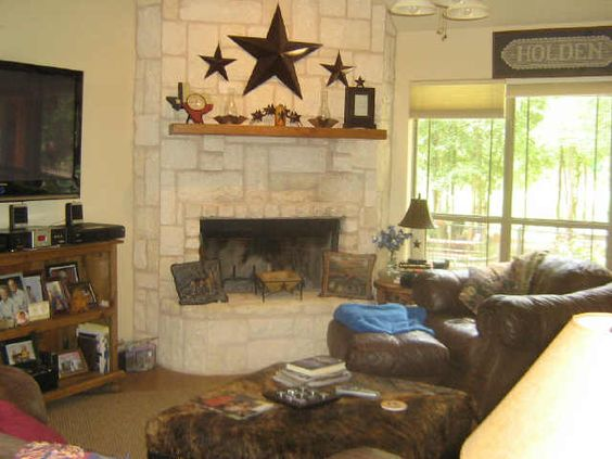 Stone Fireplaces Stones And Mantles On Pinterest