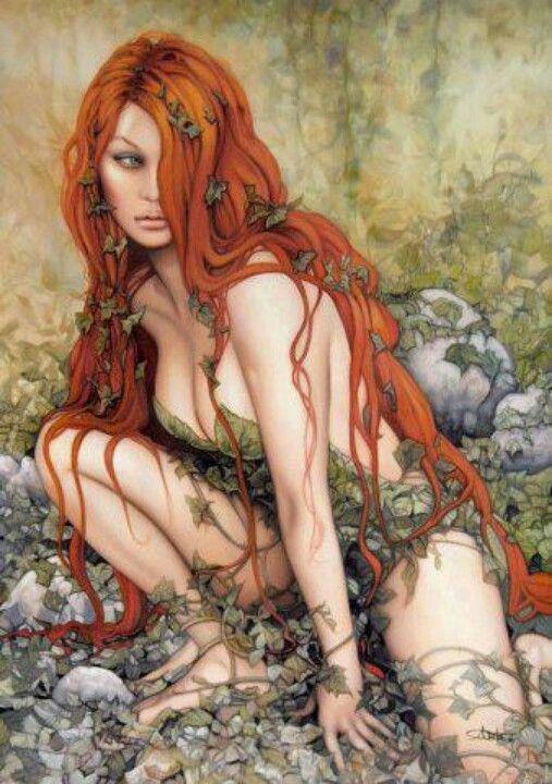 Red hair, long legs...