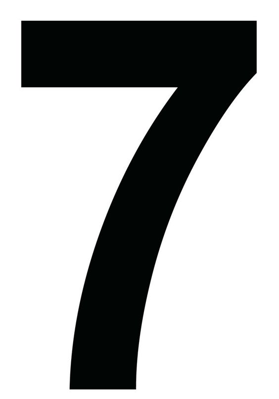 images of number 7 | Seven Links Project }