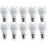 Https Ift Tt 2nddrbd Syska Ssk Srl Base B22 9 Watt Led Bulb Pack Of 10 Cool White In 2020 Led Bulb Bulb Led Lighting Home