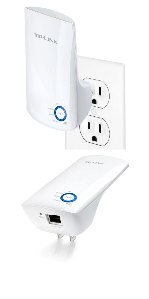 Tp Link Wall Plug Universal Wi Fi Range Extender With 2 X Internal Antennas 845973070687 Ebay Tp Link Antennas Wifi Booster