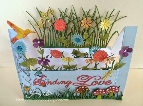 Jen's Paper Obsession: Floral