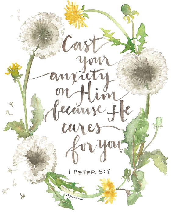 God Cares for You. Topic from 'Answer Me: Developing a Heart for God' by Patti Greene  ISBN: 978-1-5127-6045-3  Because He Cares for You.jpeg