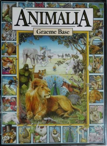 I had a lot of books as a kid but this is the only one on my book shelf 28 years later. Animalia.