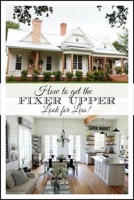 Operation Fixer Upper: Pinterest • The World's Catalog Of Ideas
