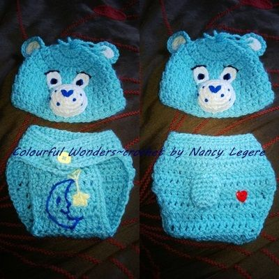Crochet Care Bear Hat Pattern Dancox For