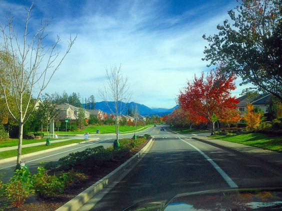 Beautiful fall day in the Northwest!  #upperleftusa #Sammamish #mtsi #cascades #Seattle #fall #autumn #instagood