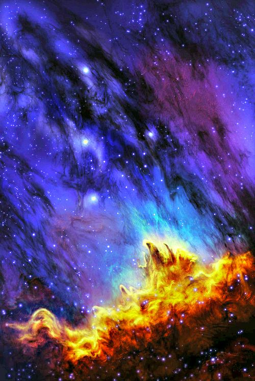 Nebulas, Crowns and Outer space on Pinterest