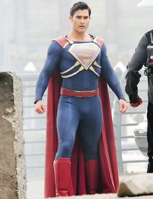 Noticias de cine y series: Supergirl: Nuevo vídeo del rodaje con Superman enfrentándose a un nuevo villano