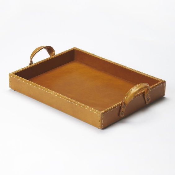 Butler Hors D Oeuvres Decorative Tray - Light Brown - 3574016