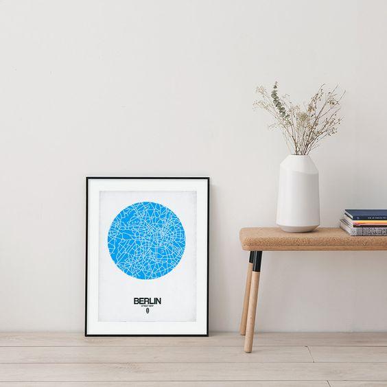 Metropolen in minimalistischer Grafik von Naxart
