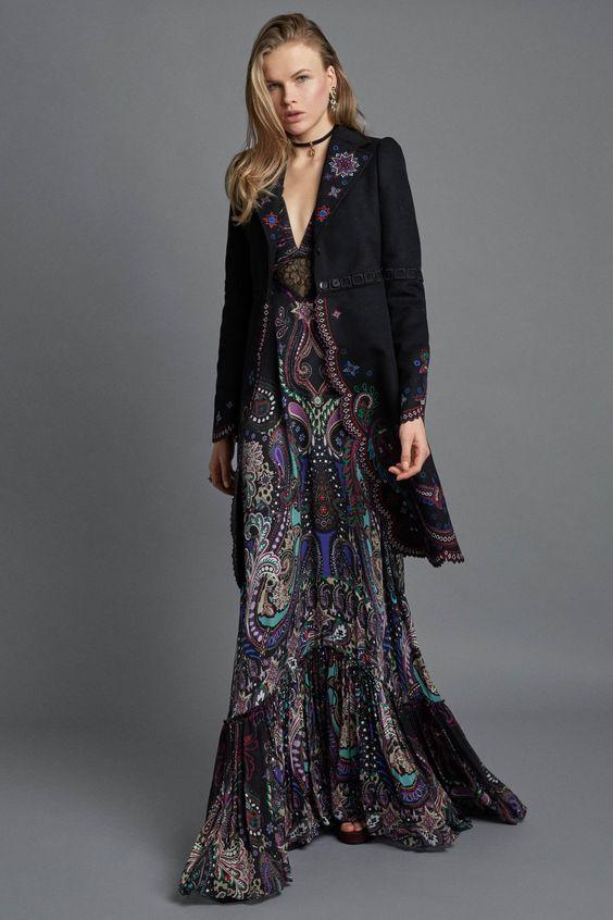 Bohemian Fashion: Jackets & Twirls