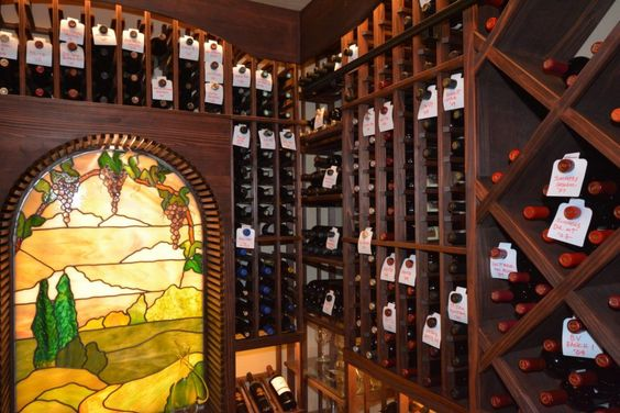 Image Result For Stained Glass In Wine Cellars Wine Cellar