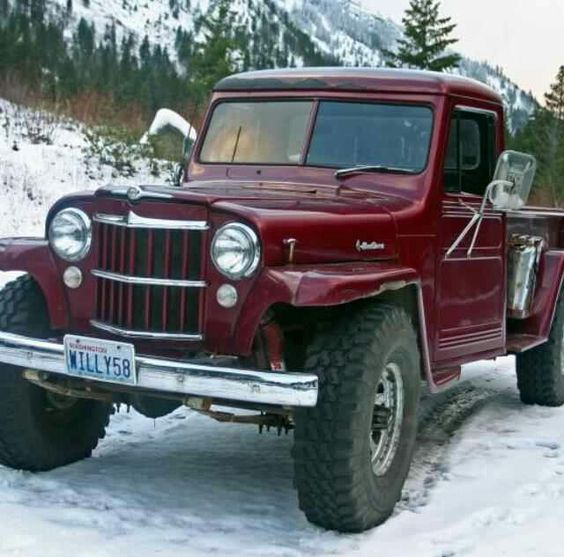Jeeps, Jeep Pickup And Jeep Willys On Pinterest