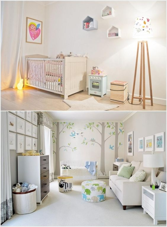 Beautiful Bedroom Design For Babies With Neutral Colors Combination Some combination of neutral colors for interior that you can apply Interior Design  http://seekayem.com
